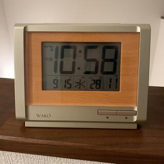ワコウドウ(和光堂)のWAKO 電波時計 デジタル時計(置時計)