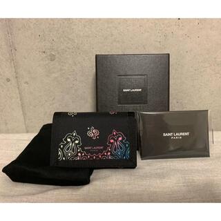 サンローラン(Saint Laurent)のサンローラン 三つ折りミニウォレット(折り財布)