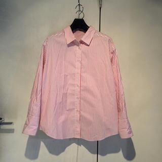 ローズバッド(ROSE BUD)のROSEBUD♡ストライプシャツ(シャツ/ブラウス(長袖/七分))