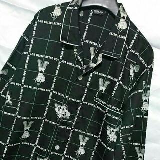 美品 L ASTORO BOY メンズ パジャマ ナイトウェア ルームウェア (その他)