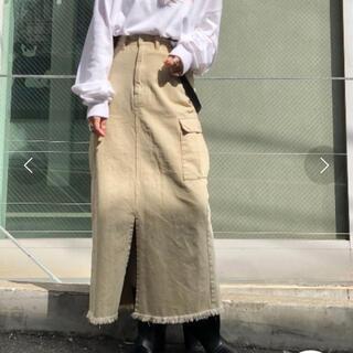 カスタネ(Kastane)の新品 カスタネ サス付き スカート(ロングスカート)