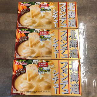 ハウスショクヒン(ハウス食品)の【新品】ハウス北海道フォンデュシチュー 162g ×3個(レトルト食品)