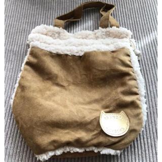 ツモリチサト(TSUMORI CHISATO)のツモリチサト☆ムートン風きんちゃくバッグ(ハンドバッグ)