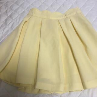 イング(INGNI)のINGNI ♡ イエロー スカパン キュロット イング 黄色(キュロット)