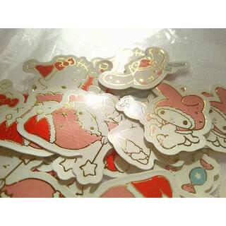 サンリオ(サンリオ)のサンリオ シール クリスマス 50枚(印刷物)
