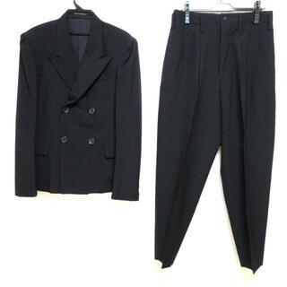 Yohji Yamamoto - ヨウジヤマモト ダブルスーツ メンズ - 黒