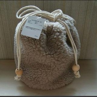 サマンサモスモス(SM2)の♡新品未使用タグ付♡sm2 サマンサモスモス 巾着 バッグ(その他)