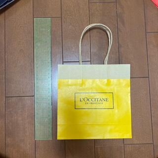 ロクシタン(L'OCCITANE)のブランドショッパー(ショップ袋)