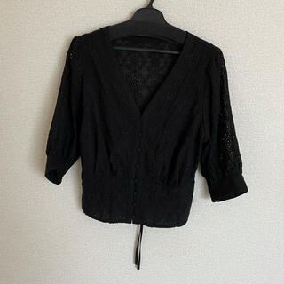 ココディール(COCO DEAL)のCOCO DEAL レーストップス(シャツ/ブラウス(半袖/袖なし))