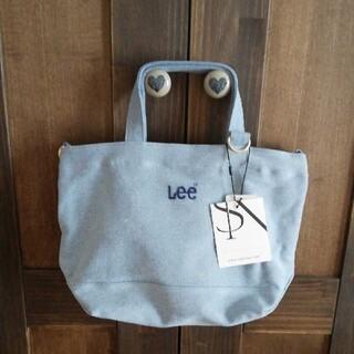 リー(Lee)のLee サミールナスリ ショルダー2wayバッグ ブルー 新品(ショルダーバッグ)