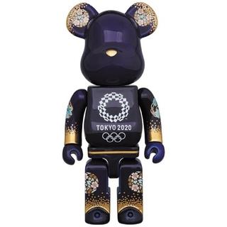 ベアブリック 有田焼 東京オリンピック2020エンブレム 400%2(キャラクターグッズ)
