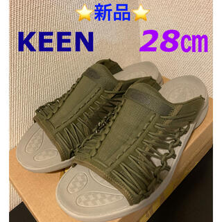 KEEN - ⭐️新品⭐️  KEEN  UNEEK SNK SLIDE  28cm