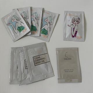 SHISEIDO (資生堂) - 資生堂 化粧惑星 洗顔料④ クレンジング① タカミ①  おまけ③計9個