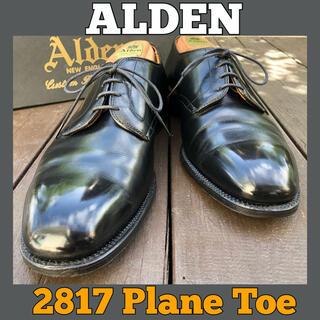 Alden - □美品□オールデン/プレーントゥ/ALDEN/10/28/ストレート/黒