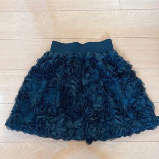 リリーブラウン(Lily Brown)の【超美品】黒 ミニスカート リリーブラウン ドレス(ミニスカート)