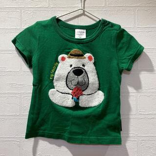 フタフタ(futafuta)のfutafuta くまさんTシャツ 80(Tシャツ)