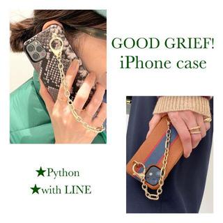アパルトモンドゥーズィエムクラス(L'Appartement DEUXIEME CLASSE)の【GOOD GRIEF!/グッドグリーフ】 I Phone Case with (iPhoneケース)