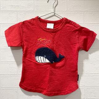 フタフタ(futafuta)のfutafuta クジラさんTシャツ 80(Tシャツ)