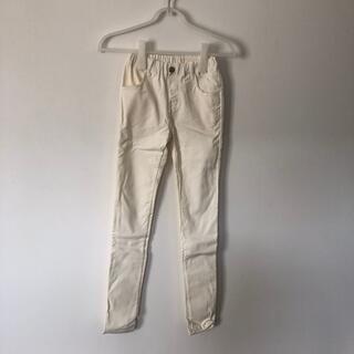 スキップランド(Skip Land)のスキニーパンツ 白 150cm 未使用(パンツ/スパッツ)