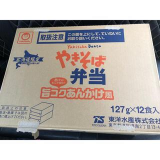日清食品 - やきそば弁当  北海道限定 旨コクあんかけ 1箱12食 非常食