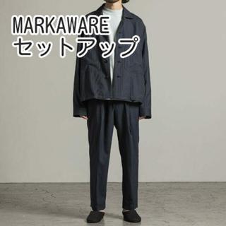 MARKAWEAR - MARKAWARE セットアップ シャツブルゾン フラットフロント marka