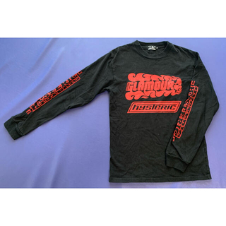 ヒステリックグラマー(HYSTERIC GLAMOUR)の専用HYSTERIC GLAMOUR FIRE ROGO プリントTシャツ (Tシャツ/カットソー(七分/長袖))