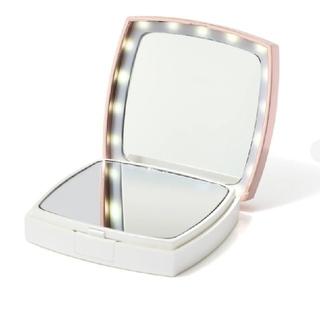 フランフラン(Francfranc)のBLANECHE LEDコンパクトミラー(ミラー)