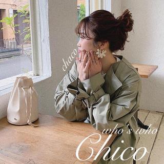 フーズフーチコ(who's who Chico)の新品🦔¥9790【Chico】トレンチコート(トレンチコート)