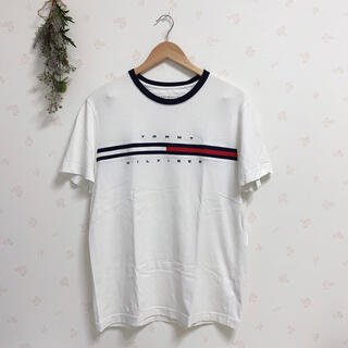 トミーヒルフィガー(TOMMY HILFIGER)のTOMMY HILFIGER トミーヒルフィガー ロゴ Tシャツ(Tシャツ(半袖/袖なし))