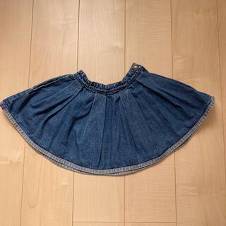 アナスイミニ(ANNA SUI mini)のANNA SUI mini デニムスカート 110(スカート)