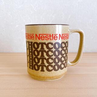ネスレ(Nestle)のNestle ネスレ ヴィンテージ マグカップ レトロ(グラス/カップ)