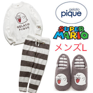 gelato pique - 【完売!新品】ジェラートピケ マリオ ルームウェア ルームシューズ メンズ