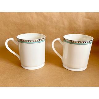Tiffany & Co. - 【未使用品】ティファニー   プラチナブルーバンド   マグカップ ペア
