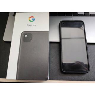 Google - Google Pixel 4a 128GB【ブラック】