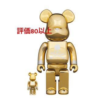 メディコムトイ(MEDICOM TOY)のBE@RBRICK mastermind JAPANGOLD 100%&400%(その他)