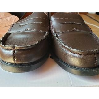 ボディライン(BODYLINE)のローファー/学生/コスプレ/ブラウン/コインローファー/ハロウィン/25(ローファー/革靴)