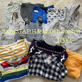 ザラキッズ(ZARA KIDS)の男の子服13点まとめ売り(zara.Oshkosh.GAP.H&M等)(Tシャツ)