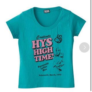 ヒステリックグラマー(HYSTERIC GLAMOUR)のPARANOID LETTER BOX チビTシャツ(Tシャツ(半袖/袖なし))