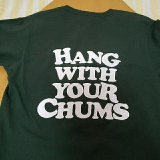 チャムス(CHUMS)のCHUMS Tシャツ グリーン M(Tシャツ/カットソー(半袖/袖なし))