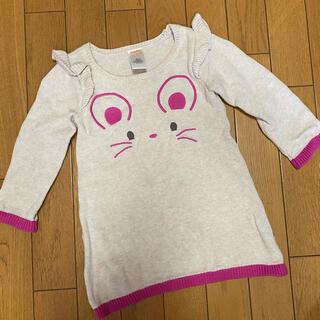 ジンボリー(GYMBOREE)の海外子供服 ジンボリー ニットワンピース 18〜24M(ワンピース)