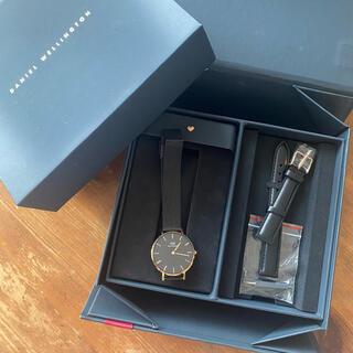 ダニエルウェリントン(Daniel Wellington)のダニエルウェリントン レデース腕時計 革ベルト(腕時計)