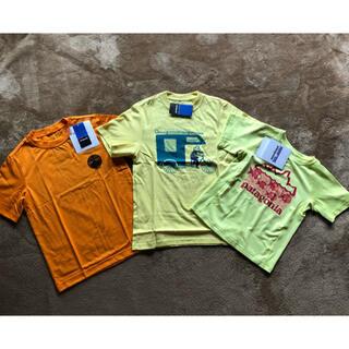 パタゴニア(patagonia)の新品 パタゴニア ボーイズ 半袖 Tシャツ 3枚セット サイズXS 5T(Tシャツ/カットソー)