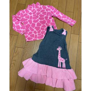 ジンボリー(GYMBOREE)の海外子供服 ジンボリー ニットワンピース&カットソー(ワンピース)