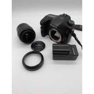 SONY - 【SONY】α77 SLT-A77V + ミノルタ 28-80mm F4-5.6