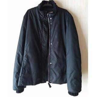 マックスアンドコー(Max & Co.)のMAX&Co マックスアンドコー 中綿ブルゾン スタンドカラー 42サイズ 黒色(ブルゾン)
