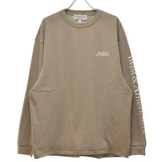 アメリカーナ(AMERICANA)のAmericana 21AW LOGO LONG 長袖Tシャツ(Tシャツ(長袖/七分))