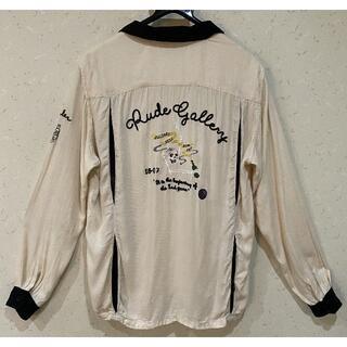 ルードギャラリー(RUDE GALLERY)の*ルードギャラリー レーヨン オープンカラー 刺繍 ボーリングシャツ 4(シャツ)