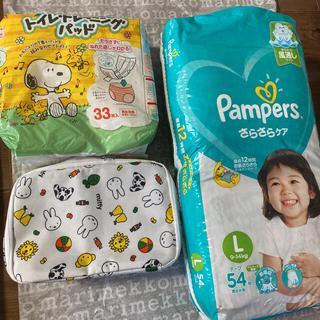 P&G - P&Gジャパン パンパース おむつ テープ L 52枚 ミッフィー おまけ付き