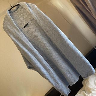 ノーブル(Noble)のNOBLE 厚手 羽織り 綺麗色 ライトブルー ノーブル(カーディガン)