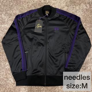 Needles - 【値下げ】新品 needles ニードルズ トラックジャケット 黒 紫